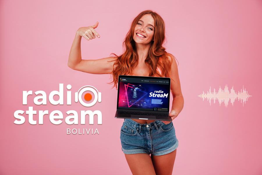 joven-Radio-Streaming-laptop